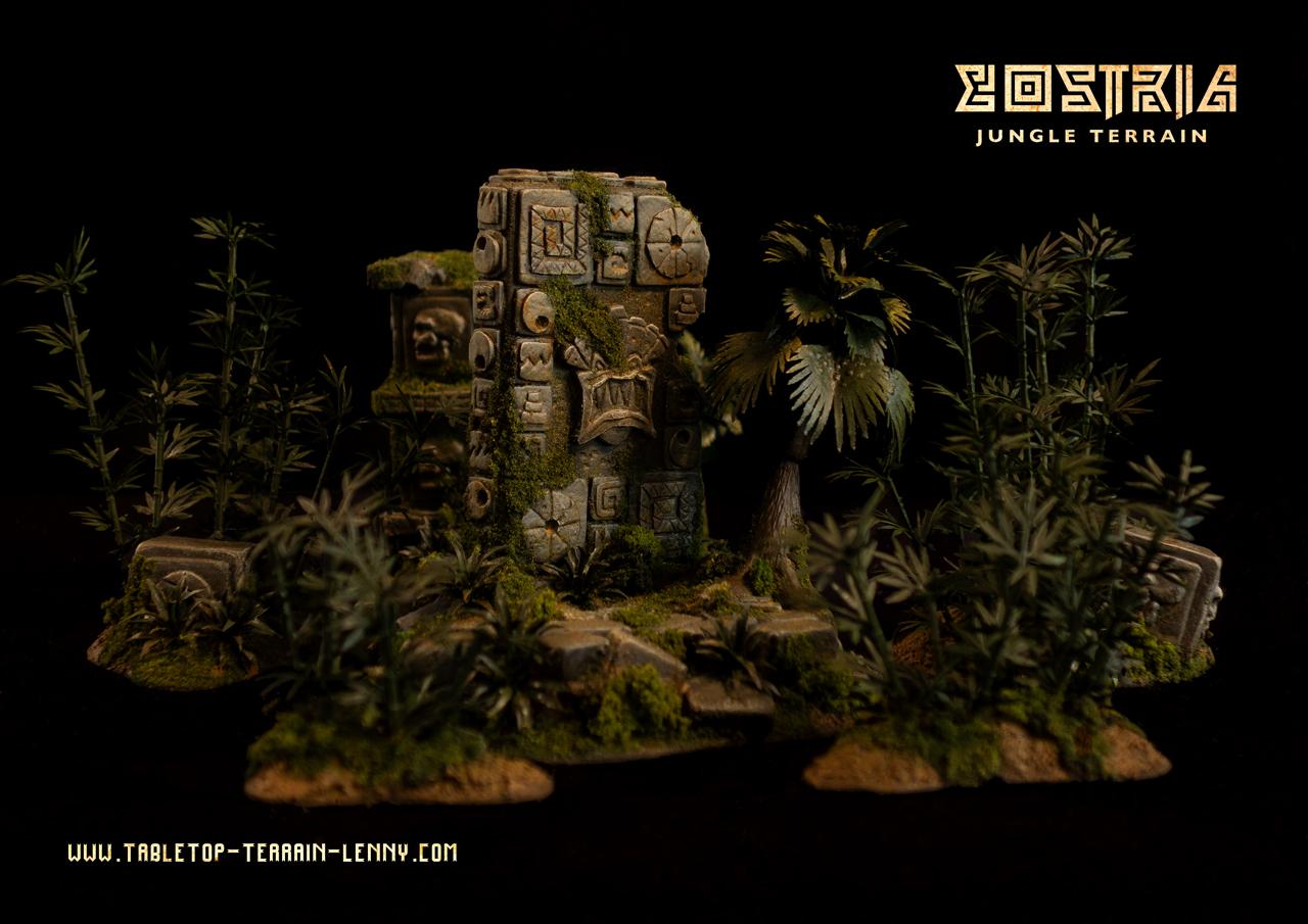Lostria Jungle Terrain: Stele & Totems